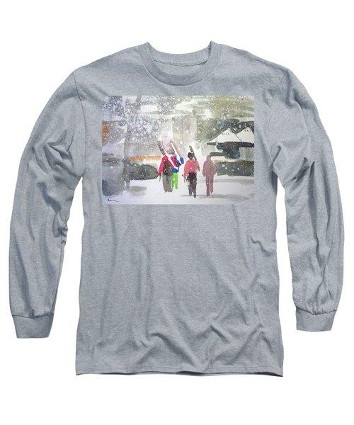 Vail,colorado  Long Sleeve T-Shirt by Ed Heaton