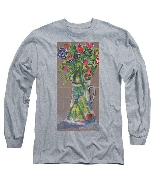 Valentine Rose Long Sleeve T-Shirt