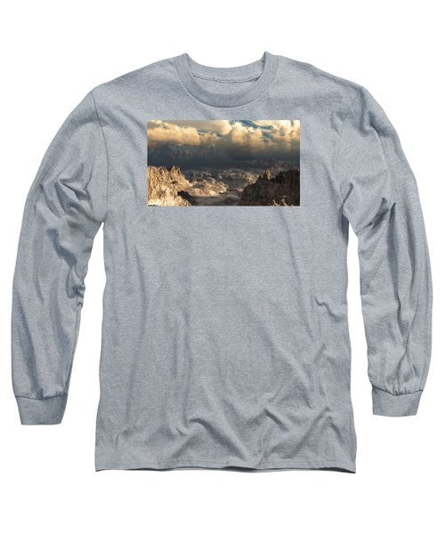 Valley At Dusk Long Sleeve T-Shirt