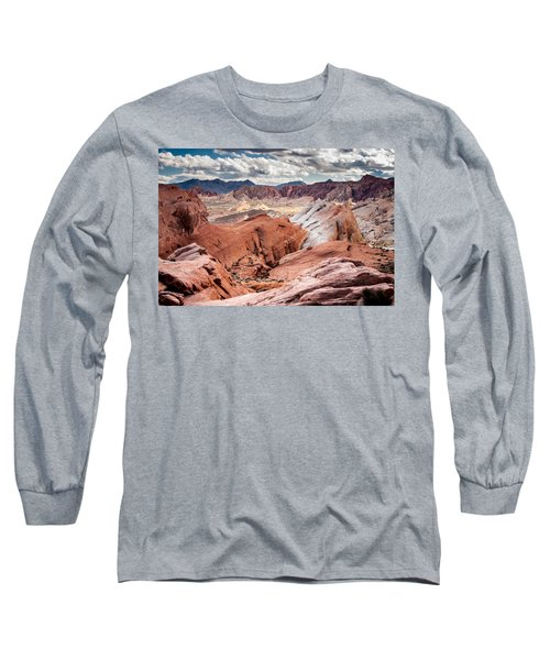 Valley Of Fire Expanse Long Sleeve T-Shirt by Jason Moynihan