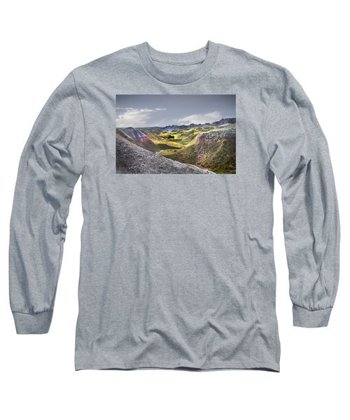 Long Sleeve T-Shirt featuring the photograph Valley Of Beauty,badlands South Dakota by John Hix