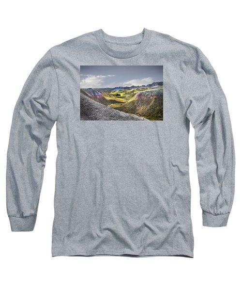 Valley Of Beauty,badlands South Dakota Long Sleeve T-Shirt