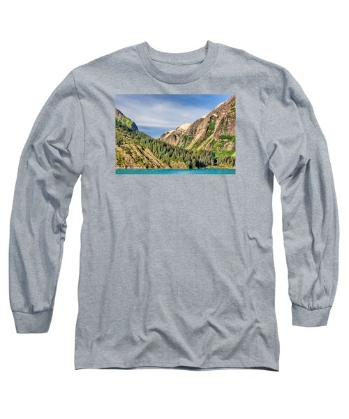 Valley Of Trees Long Sleeve T-Shirt by Lewis Mann