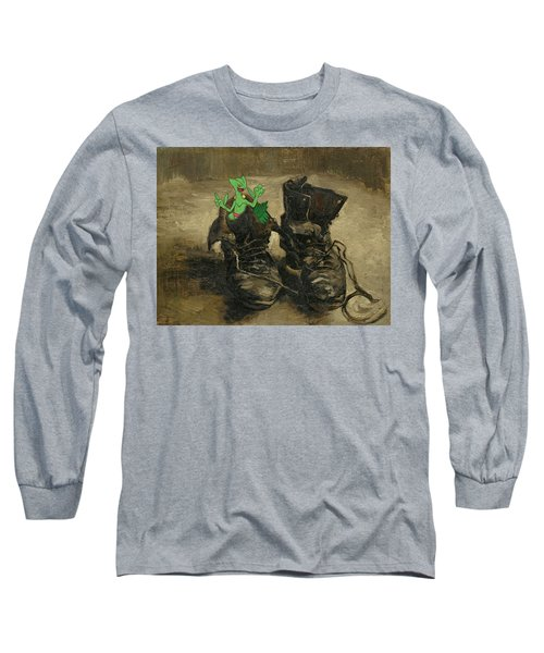 Long Sleeve T-Shirt featuring the digital art Van Septilegogh by Greg Sharpe