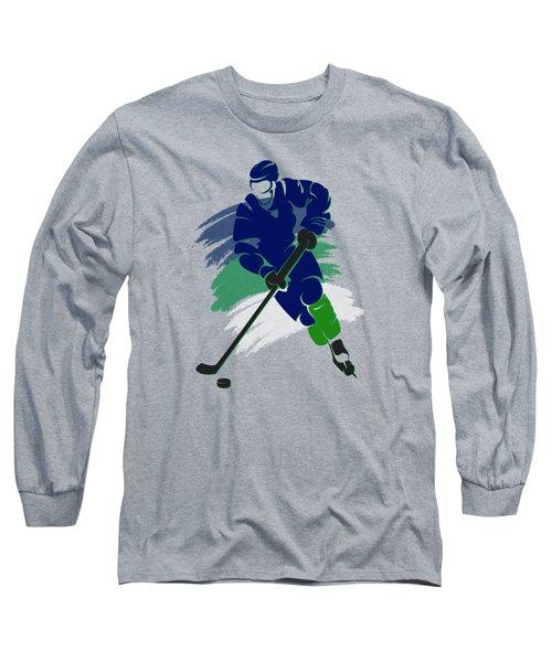 Vancouver Canucks Player Shirt Long Sleeve T-Shirt