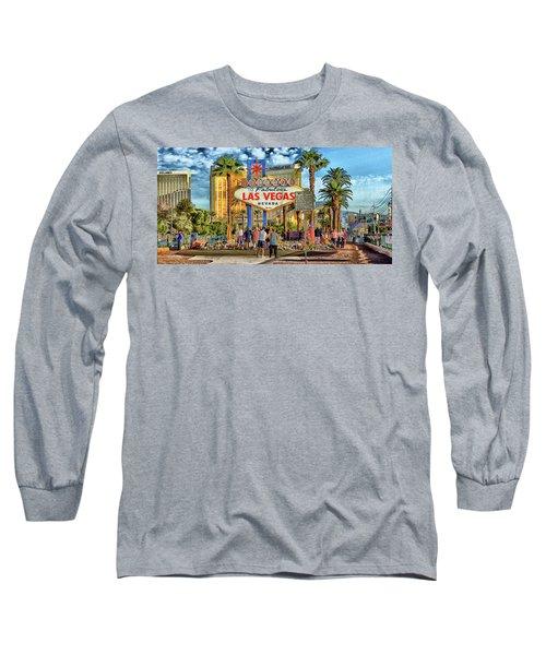 Vegasstrong Long Sleeve T-Shirt