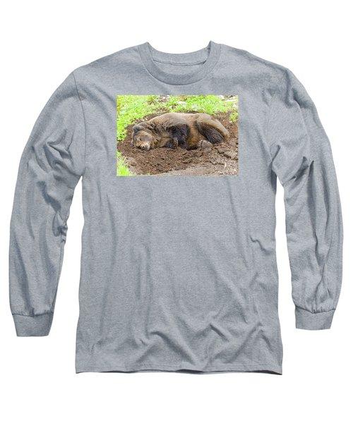 Veggin Out Long Sleeve T-Shirt by Harold Piskiel