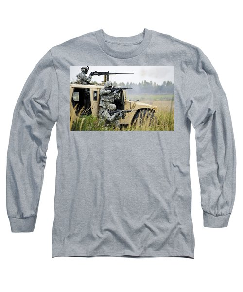 Vehicle Long Sleeve T-Shirt