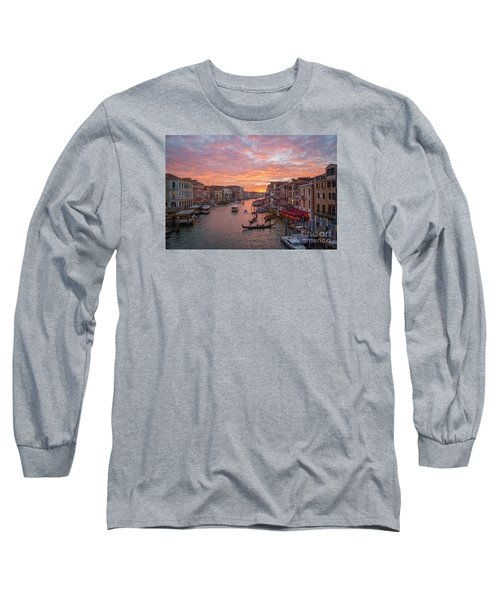 Venice At Sunset - Italy Long Sleeve T-Shirt