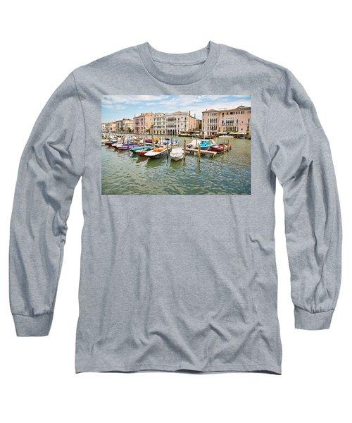 Venice Boats Long Sleeve T-Shirt
