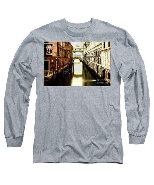 Venice Bridge Of Sighs Long Sleeve T-Shirt