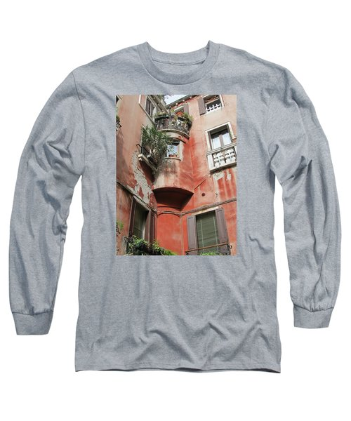 Venice Italy Street Long Sleeve T-Shirt