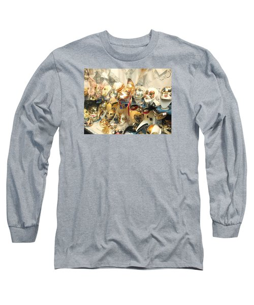Venice Masks Long Sleeve T-Shirt