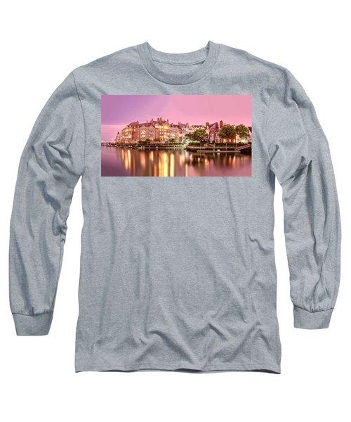 Venice Of Jersey City Long Sleeve T-Shirt