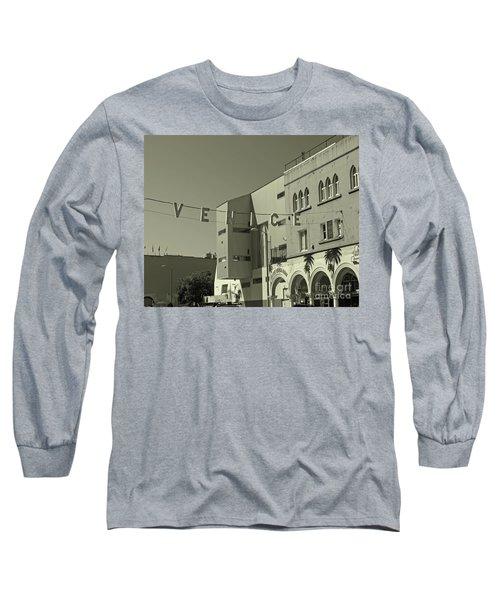 Venice Sign Long Sleeve T-Shirt