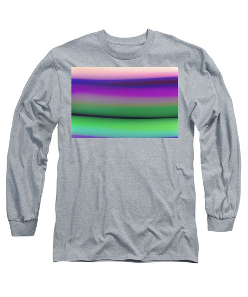 Long Sleeve T-Shirt featuring the photograph Verbena Stripe by Shara Weber