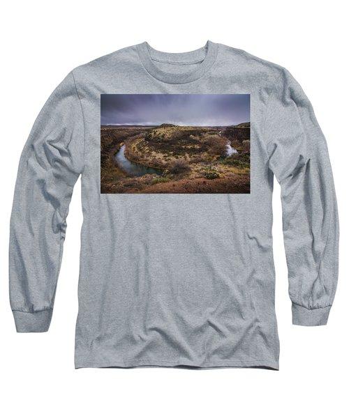 Verde River Horseshoe Long Sleeve T-Shirt