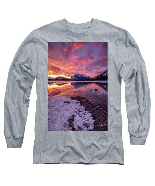 Vermillion Splendour Long Sleeve T-Shirt