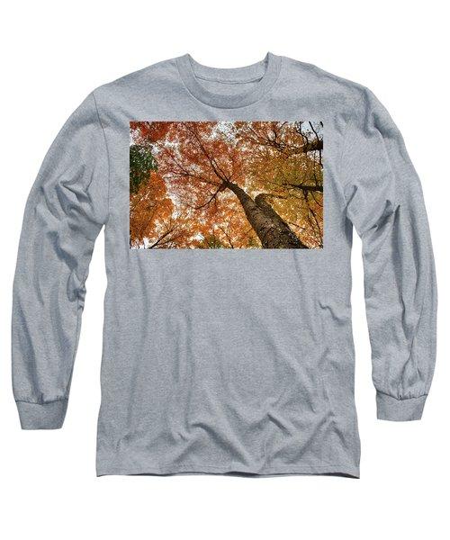 Vermont Fall Foliage Views Long Sleeve T-Shirt