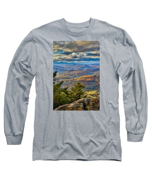 Vermont Foliage From Mt. Ascutney Long Sleeve T-Shirt