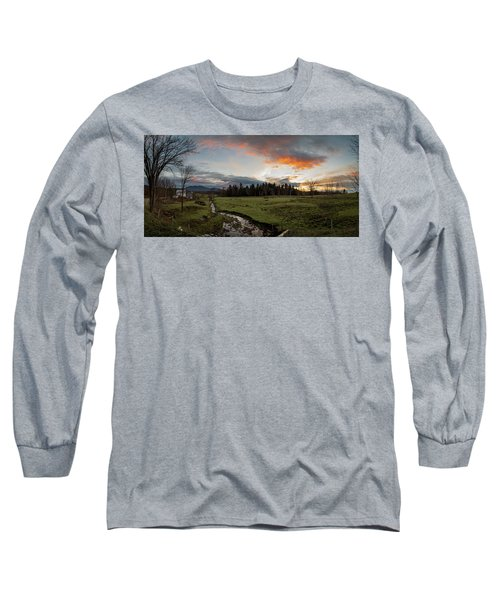 Vermont Sunset Long Sleeve T-Shirt