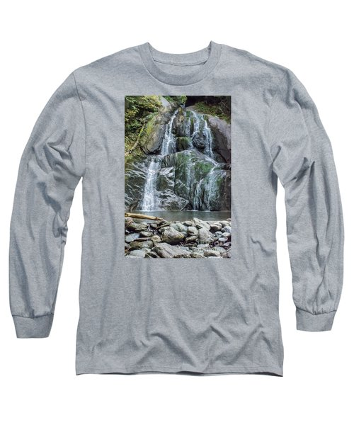 Vermont Waterfall Long Sleeve T-Shirt
