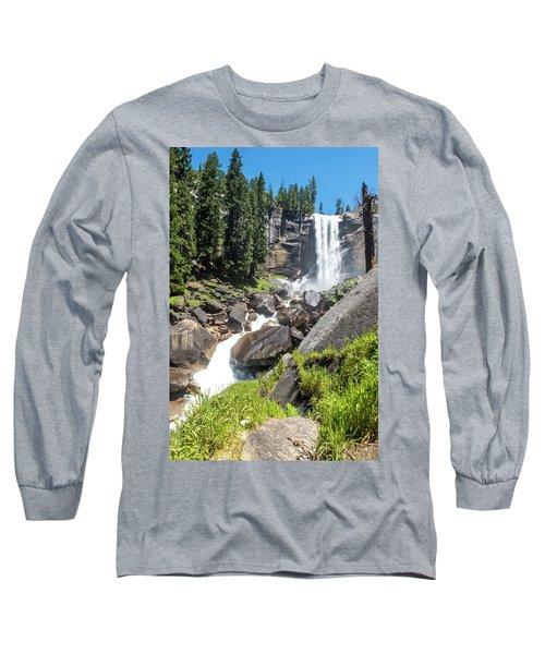 Vernal Falls- Long Sleeve T-Shirt