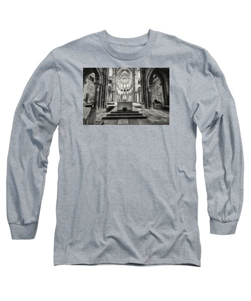 Long Sleeve T-Shirt featuring the photograph Vezelay Basilica France by Jack Torcello