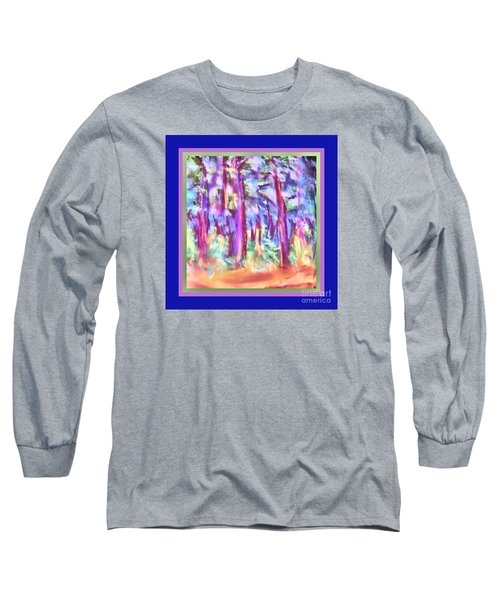 Vibrant Forest Long Sleeve T-Shirt