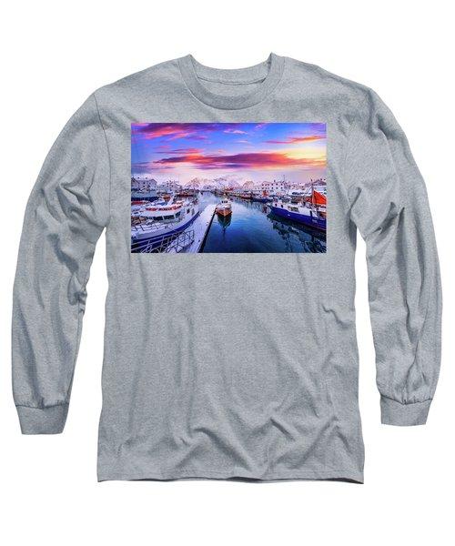 Vibrant Norway Long Sleeve T-Shirt