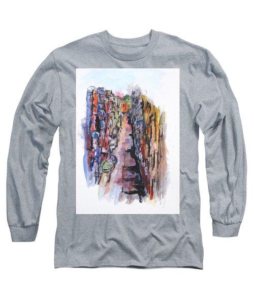 Vicolo De Napoli Long Sleeve T-Shirt by Clyde J Kell