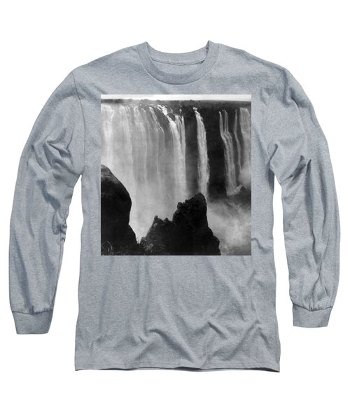 Victoria Falls - C 1911 Long Sleeve T-Shirt