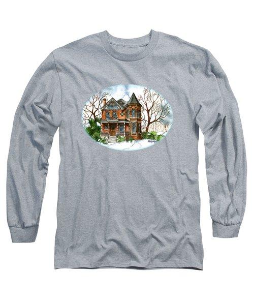 Victorian Winter Long Sleeve T-Shirt