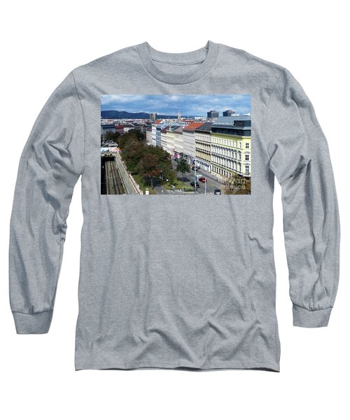 Vienna Beltway Long Sleeve T-Shirt by Christian Slanec
