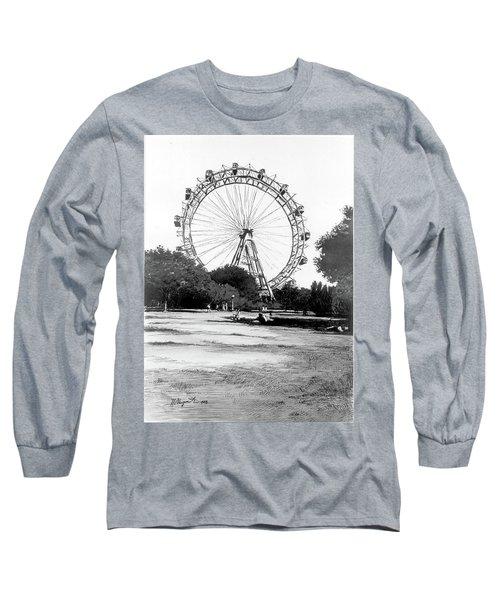 Viennese Giant Wheel Long Sleeve T-Shirt