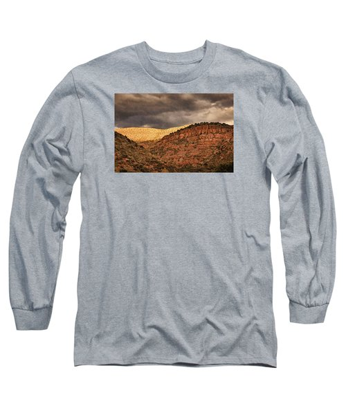 View From A Train Pnt Long Sleeve T-Shirt