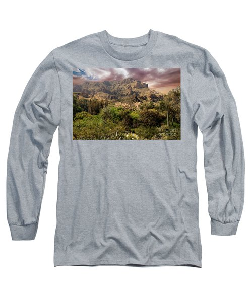 View From Boyce Thompson Long Sleeve T-Shirt by Anne Rodkin