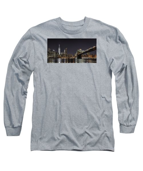 View From Brooklyn Bridge Park Long Sleeve T-Shirt