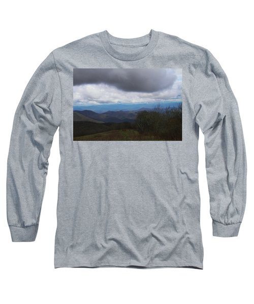 View From Silers Bald 2015b Long Sleeve T-Shirt
