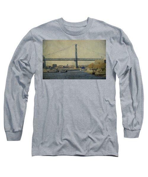View From The Battleship Long Sleeve T-Shirt