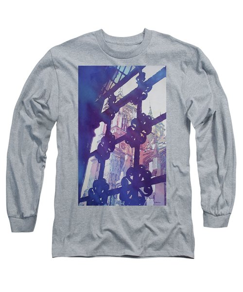 View From The Cloister Long Sleeve T-Shirt by Jenny Armitage