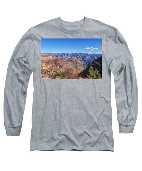 Long Sleeve T-Shirt featuring the photograph View From The South Rim by John M Bailey
