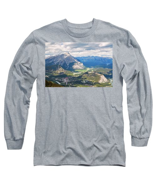 View Of Banff Long Sleeve T-Shirt