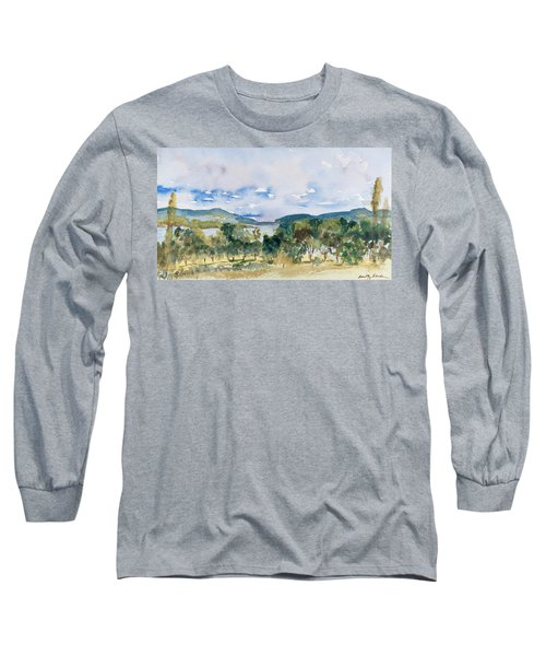 View Of D'entrecasteaux Channel From Birchs Bay, Tasmania Long Sleeve T-Shirt