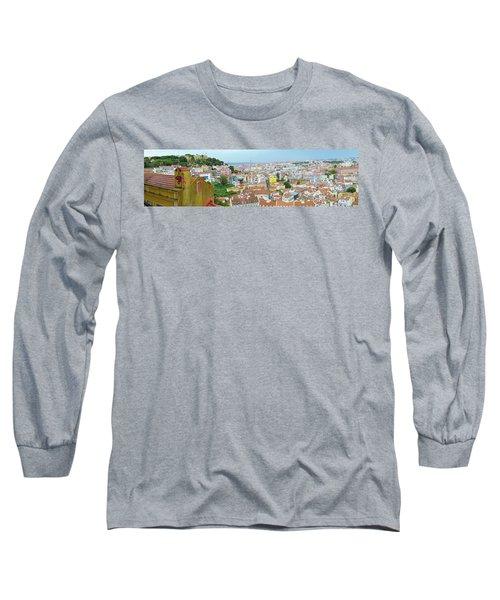 View Of Lisbon Long Sleeve T-Shirt
