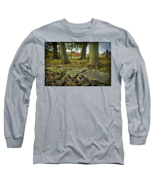 View Toward The Cemetery Long Sleeve T-Shirt