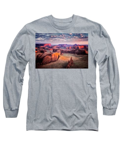 Views From The Edge  Long Sleeve T-Shirt by Nicki Frates