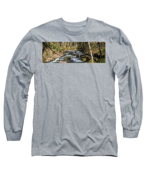 Views Of A Stream, II Long Sleeve T-Shirt