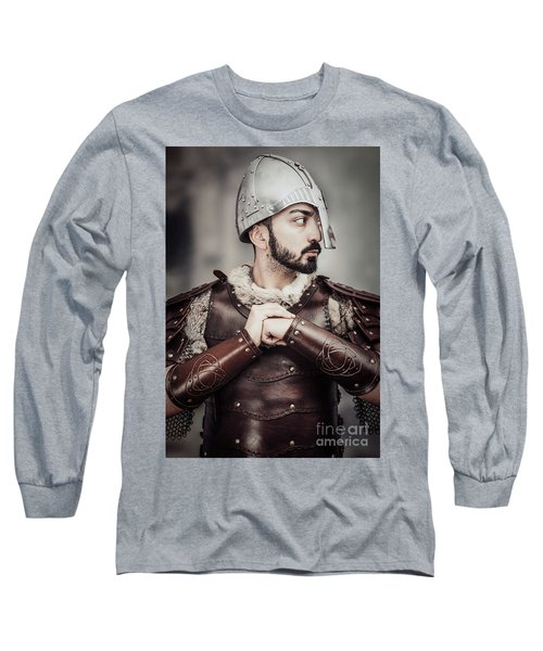 Viking Warrior Long Sleeve T-Shirt