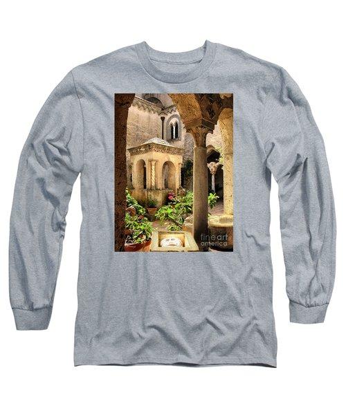 Villa Cimbrone. Ravello Long Sleeve T-Shirt by Jennie Breeze